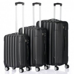 3 Pieces ABS Luggage Sets...