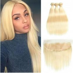 -613 Blonde Straight Hair 3...