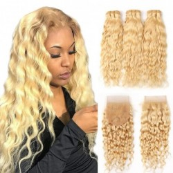613 Blonde Human Hair...