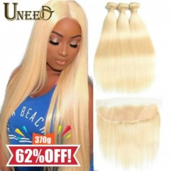 Uneed Hair 10A 613 - Lote...