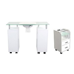 Manicure Table GLASS GLOW...