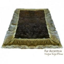 Luxury Fur Throw Blanket -...