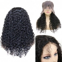 150- Curly Hair Lace Front...