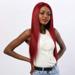 Human Hair Wigs Full Lace...