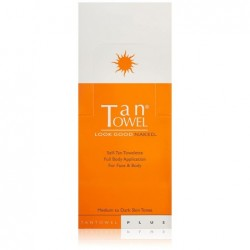 Tan Towel Full Body Towelettes