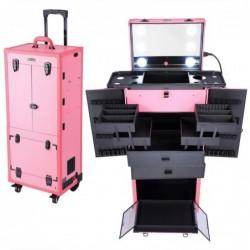 AW Pink Rolling Makeup Case...